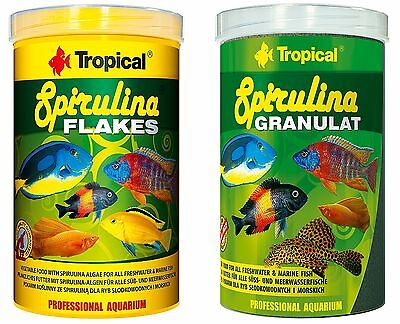 Spirulina Specialist Fish Food For Marine & Freshwater