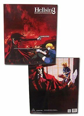 *NEW* Hellsing Ultimate: Alucard & Victoria Binder by GE Animation