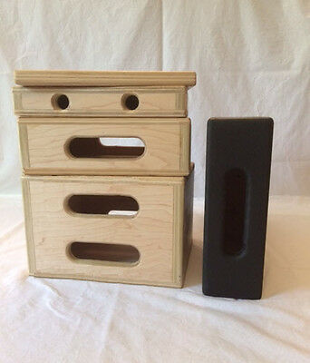 New Mini Apple Box Complete Set for Film/Stage/Studio Grip
