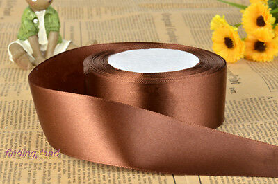 22 Metres/25 yads x 10/15/20/25/38mm Wholesale Single Faced Satin Ribbons Roll