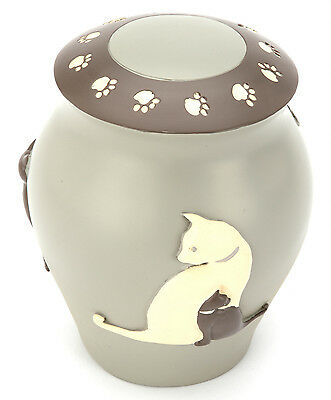 Selby Cat Urn With Frame UU520003B