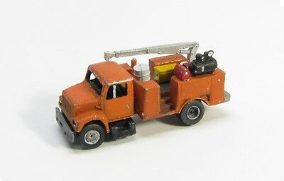 "Z Scale ""I"" Class Equipment Service Truck Kit by Showcase Miniatures (4030)"