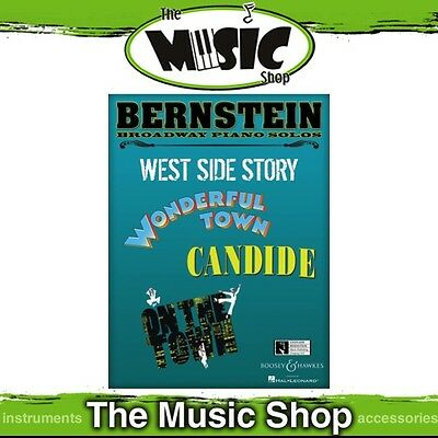 New Bernstein Broadway Piano Solos Music Book