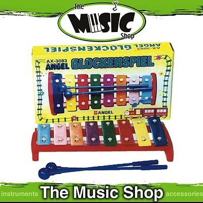 New Angel 8-Note Diatonic Glockenspiel with Beaters - C3-C4 - AX8