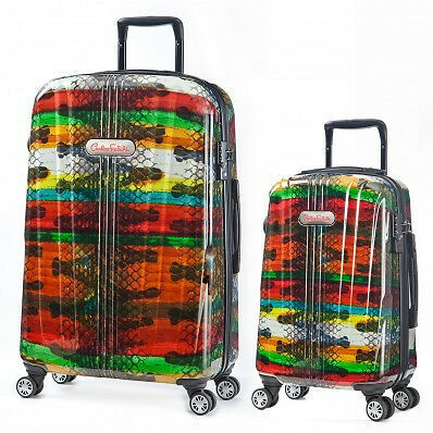 Carlos Falchi Luggage Set (2 Pieces) - Rainbow
