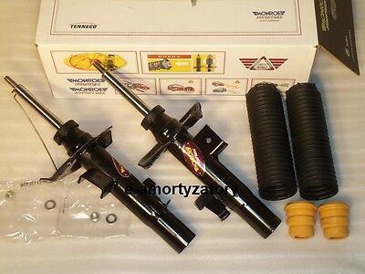 2x Front Shock Absorbers FORD S-MAX GALAXY MONDEO IV+Protection Kit MONROE E7078