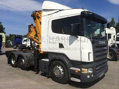 Scania R420 6x2 MID LIFT TRACTOR UNIT