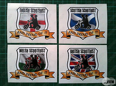 Scooterist / Scooter Boy Decal / Sticker