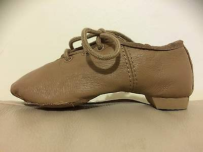 Clearance - Leather Jazz Shoes Tan