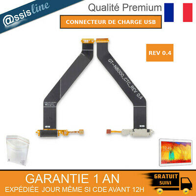 Nappe Flex Connecteur De Charge Usb Samsung Galaxy Note 10.1 Gt-N8000 N8010 8020