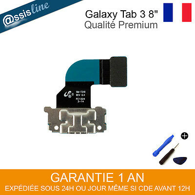 "Nappe Flex Cable Connecteur De Charge Usb Pour Samsung Galaxy Tab 3 8"" Sm T310"