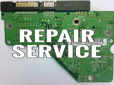 Repair For  WD5000AAVS-00ZTB0, 2061-701477-600 AC, WD SATA 3.5 PCB