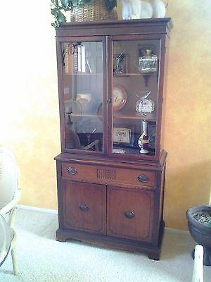 Antique Mahogany Bookcase/China Cabinet  Excellent Condition