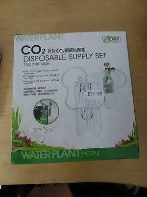Co2 Disposable Supply Set Fish Tank, Aquarium Plant Diffuser Canister Airline