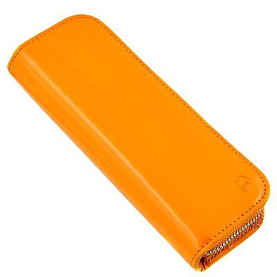PELIKAN pen pouch - yellow laquered leather - 0NP068