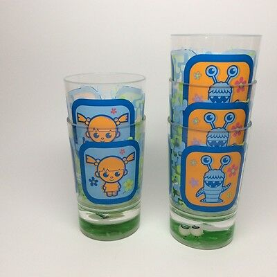 MONSTERS, INC. cups A SET OF FIVE CUPS!