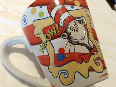 Dr Seuss Cat in the Hat Movie 2003 Ceramic Mug Cup Small size Rare Collectible