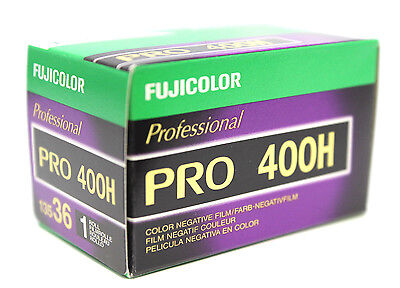 Fuji Pro 400H 135-36 35mm Film Color Fujifilm NPH 400 FRESH Exp 12/2019