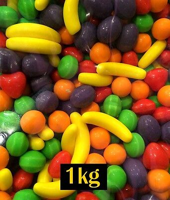 USA Wonka Runts 1kg Bulk Lollies