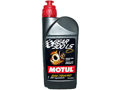 (1L=1.05 Qt) Motul Gear 300 Ls 75W90 100% Synthetic Transmission Lsd Oil
