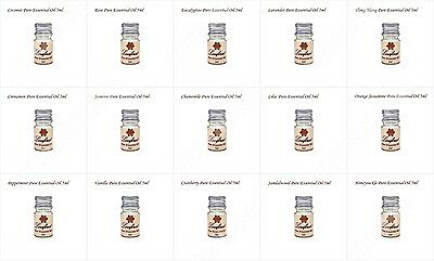 Essential Oils Pure Natural Aromatherapy oils 15-5 ml & choose aroma