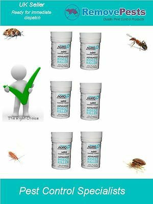 6 clothes moth smoke poison bomb fumers for carpet moth domestic & commercial AP