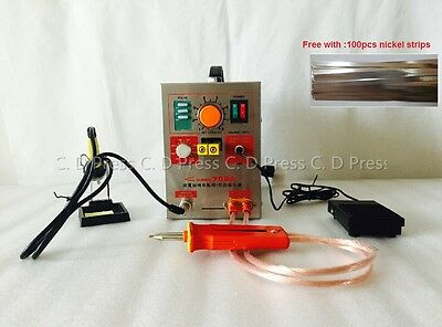 New 60A 2 in 1 Pulse Battery Spot Welder Soldering Welding Machine 709A 1.9KW