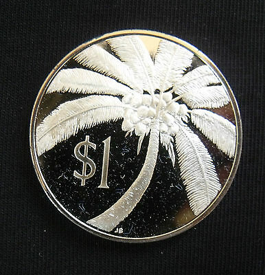 1974 Western Samoa Sterling Silver Proof Coin ....