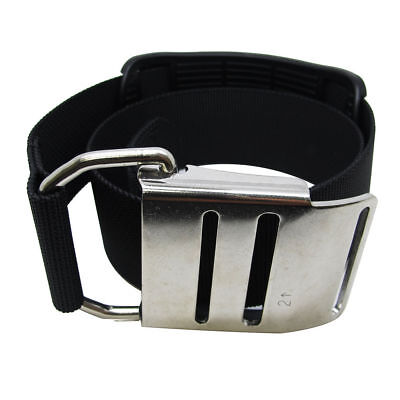 Palantic Tech Diving Tank Cam Band w/ Stainless Steel Buckle for Harness System