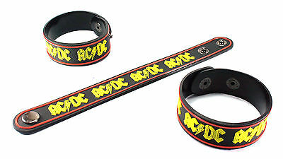 AC/DC NEW! Rubber Bracelet Wristband Free Shipping Pinball vr90