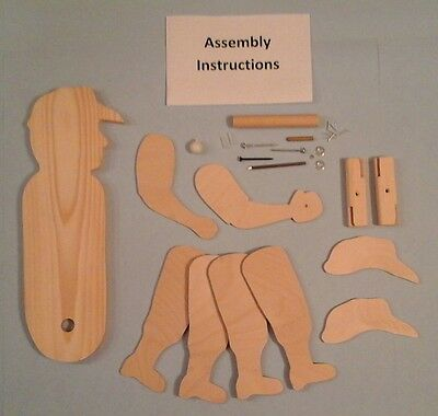 Baseball Player Whirligig Kit