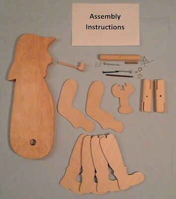 Lobster Fisherman Whirligig Kit