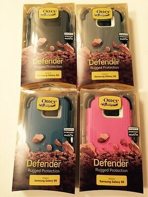New Otterbox Defender Series Case Samsung Galaxy S6 & Holster Belt Clip