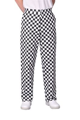 Portwest Harrow Unisex Chefs Trousers S068 Polycotton Hotel Kitchen Work Uniform