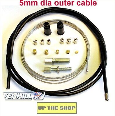 Venhill Universal Throttle Cable  MX, Enduro,Trials, Motorcycle Kit  U01-4-100/A