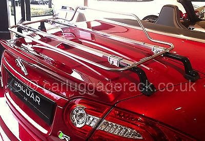 Jaguar XK Convertible Luggage Trunk Rack  - Stainless Steel