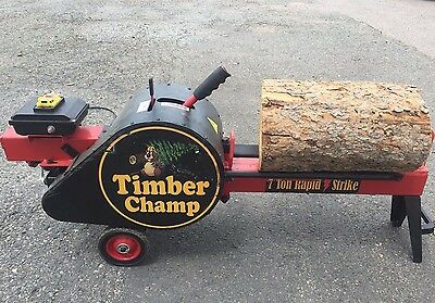 Timber Champ 7t Kinetic Log Splitter