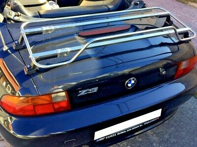 BMW Z3 Luggage Boot Rack Carrier - Stainless Steel Rack