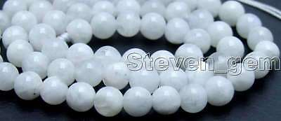 """SALE Round 6mm Natural High quality Moonstone gemstone Beads strand 15""""-los600"""