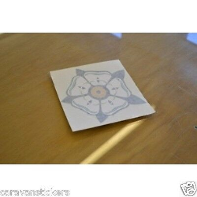 Rose 'Yorkshire' Sticker Decal Graphic SINGLE