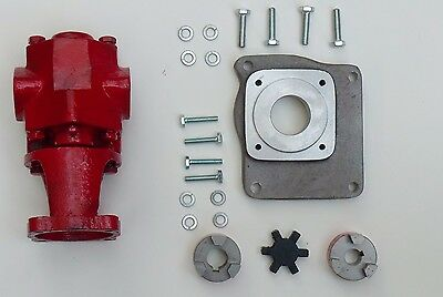 Gas Powered 24 GPM WVO Pump Oil transfer Gear Pump Kit US Filtermaxx