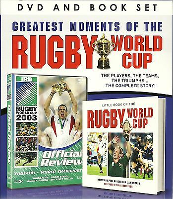 Greatest Moments Of The Rugby World Cup Dvd & Book Gift Set - The Complete Story