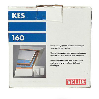 Velux Kes 160 Power Supply For Daylight Controller, New In Box!