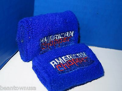 "American Chopper 2"" Arm Bands Red White Blue 2 Pack"