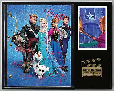 Disney Frozen - Reprinted Autograph Hollywood Script Display - Free Shipping USA
