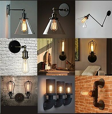 Vintage Industrial Wall Light Lamp Sconce Collection