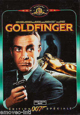James Bond: Goldfinger - Special Edition (French Artwork) *new Dvd*