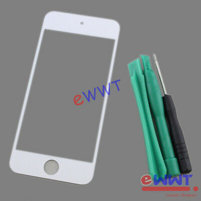 Replacement White Front Screen Glass Lens +Tool for iPod Touch 5th Gen 5 ZVGS261