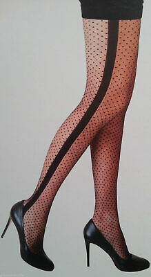 Sexy Tights PRIMARK Ladies Wide Seam & Spot Fashion Stockings Pantyhose S-XL NEW
