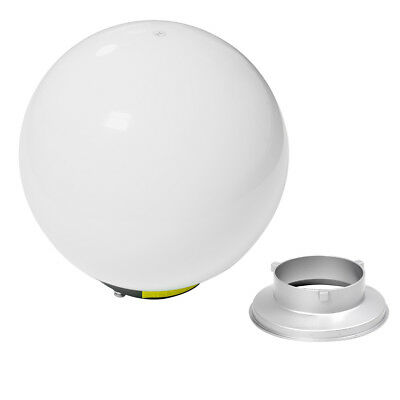 40cm Omni-Directional Translucent White Diffuser Ball Globe Bowens S-Type Fit